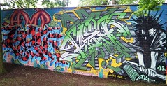 AMP let loose...... (SILLE- DET-DOPE EVERY TIME) Tags: graffiti freestyle earth leicester hell ale amp oldschool firewall syndicate dak kehoe cruel sille bref purefire aimetwo