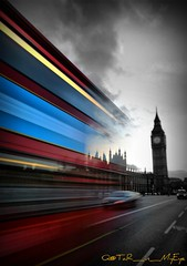 Bigben in Motion (Q@TaR_in_MyEye) Tags: uk england london canon eos photographer united kingdom bigben professional mohammed 5d feb 2009 althani flickrlovers hawaalrayyanfav