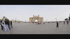 Gateway of India - Time-Lapse, Mumbai - India (Humayunn N A Peerzaada) Tags: people india lens timelapse model photographer britain tourist tourists fisheye tokina queenmary actor british maharashtra mumbai gatewayofindia humayun d90 commemorate timelapsephotography kinggeorgev tokinalens apollobunder peerzada tokinafisheye nikond90 mcmxi humayunn peerzaada apollobandar humayoon wwwhumayooncom humayunnapeerzaada tokinafisheyelens nikond90clubasia humayunnnapeezaada 10to17mmf3545 imperialmajesties imperialmajestieskinggeorgevandqueenmary landinginindia secondofdecembermcmxi 2nddecembermcmxi