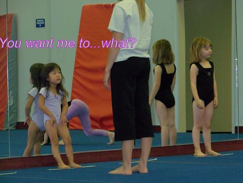 June 09 First Gymnastics Class  009