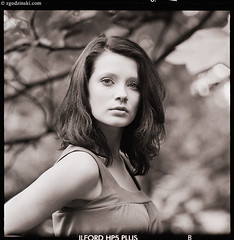 Closer (05.2009) (zgodzinski) Tags: portrait woman 6x6 film girl fashion mediumformat dof bokeh poland krakow rodinal cracow 20c pentaconsix selfdeveloped krakoff ilfordrapidfixer autaut ilfotol canoncanoscan8800f carlzeissjenasonnar180mmf28 ilfordhp5plus4001600 fomadonr09new