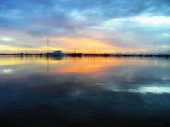 Early morning colors (Theophilos) Tags: morning sea sky reflection clouds marina sunrise ships greece crete rethymno κρήτη ελλάδα σύννεφα θάλασσα ανατολή πρωινό αντανάκλαση ρέθυμνο ουρανόσ μαρίνα πλοία