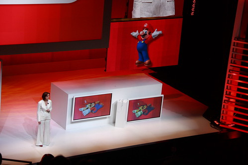 At the Nintendo E3 2009 Press Conference (click)