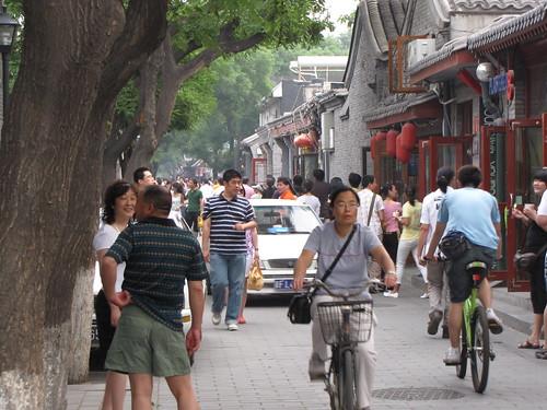 Bright lights, big city, Beijing