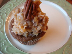 German Chocolate Cupcake from The Scone Pony, NJ
