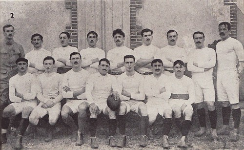 Tarbes 1919 by Frederic Humbert (www.rugby-pioneers.com).