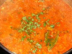 Calamares-salsa perejil y laurel