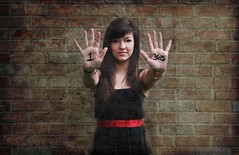 Day 1/365 - Bring It On (emyah) Tags: portrait self project emma 365 1365 365days 365icon emyah72 365icon638