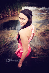where the wild things are (j.k.p) Tags: pink woman water canon photography dress kay swamp jilly ttd