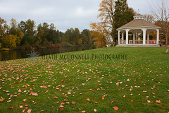 Gazebo Fall (HeathMcConnell) Tags: landscape photography watermarked 1x15