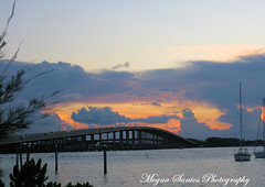 (Megan Santos) Tags: ocean bridge sunset sky skyline canon boats restaurant bay is key view florida miami rusty pelican line ixus sd sail fl causeway intercoastal biscayne rickenbacker 950 causway sd950