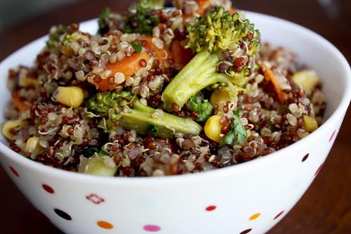Quinoa Veggie Stir Fry