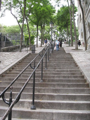 Steps at Montmartre