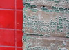 urban abstract I (Sally E J Hunter) Tags: red toronto green paint peelingpaint con urbanabstract moo1 topwad