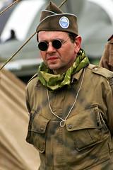 Militaire (dprezat) Tags: world portrait people soldier war military worldwarii american militaire soldat secondeguerremondiale sonyalpha700
