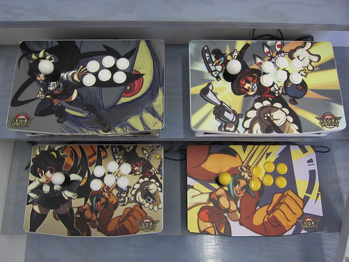 Skullgirls Custom Sticks
