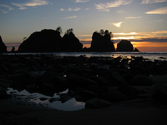 Shi Shi Beach Sunset 2