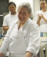 Ros Rathouse founder of Cookery School