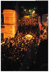 Troça Ceroula de Olinda nas prévias do Carnaval 2009. Foto: Ádria de Souza/Pref.Olinda