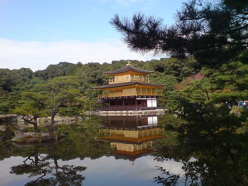 你拍攝的 金閣寺。