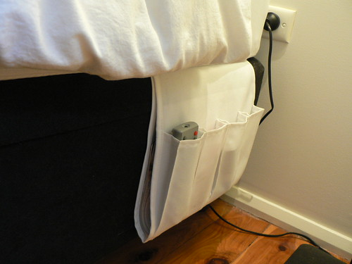 "Bedside ""Table"" / Ikea Remote Control Holder"