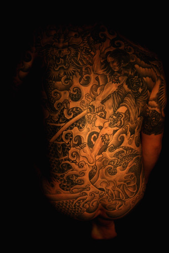 Newest photo →; Yakuza Tattoo by Téglás István