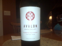Avalon 2006 Cabernet Sauvignon Napa Valley