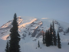 Rainier From Camp (Reed Family Archive) Tags: rainier 2009 204 troop