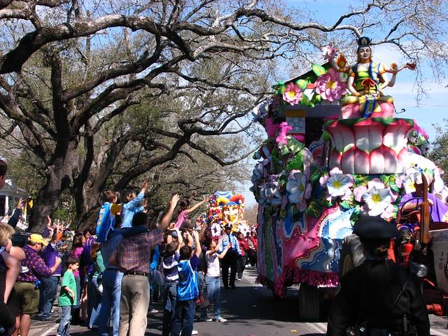 Mardi Gras Crowds