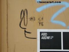 ( boxcar art freight train graffiti ) (4 I ARCHIVES) Tags: art train graffiti michael sketch unknown 1998 boxcar freight poulin moniker boxcarartcom