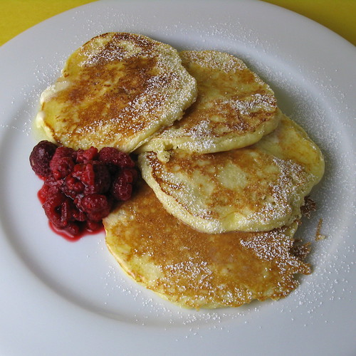 something with the ricotta. I had some fabulous Lemon Ricotta Pancakes ...