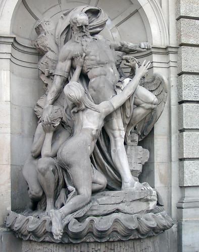 Prometheus mit jugendlichen Fans