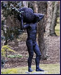 sculpture statue stone architecture greek newjersey hamilton nj sculpturegarden morph groundsforsculpture stasis brucelindsay dssign theuseofmemory