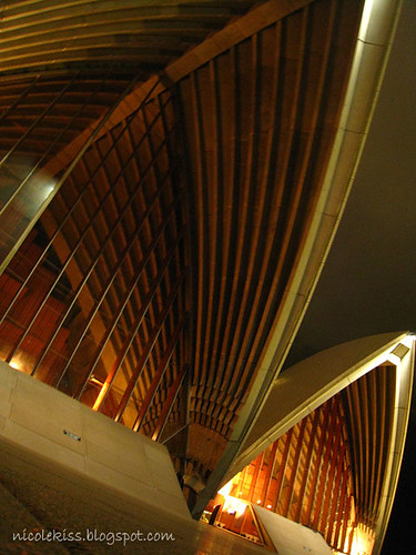 sydney opera house close up