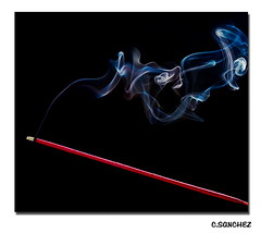 Sweet smoke.. (NYC sharpshooter) Tags: abstract patterns incense aroma smoketrails sweetsmells nikond80