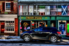 Irish Pub (Ken Yuel Photography) Tags: grace irishpub nissanmurano omot canon50d lewisburgwv saintbridge ruralwestvirginia digitalagent kenyuel washingtonstlewisburgwv