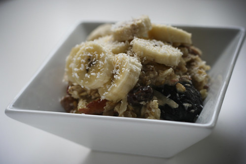 Bircher Muesli with Bananas