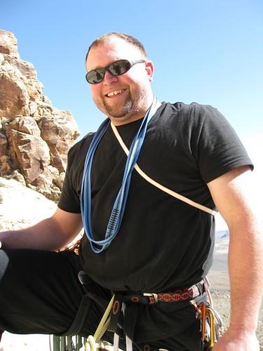 Smitty, somewhere on Johnny Vegas, Oak Creek Canyon, Red Rock NV