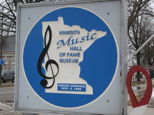 Minnesota Music Hall of Fame sign