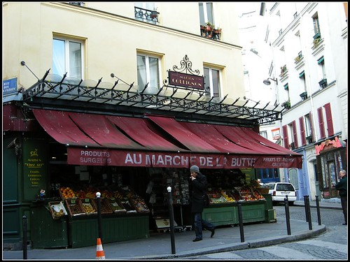 "the little marche shown up in the movie ""Le Fabuleux Destin d'Amélie """