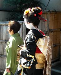 Fukusuzu's Misedashi (fuyou-hime) Tags: maiko geiko geisha kimono obi bijin wareshinobu misedashi darari hikizuri nihongami susohiki toshichika fukusuzu