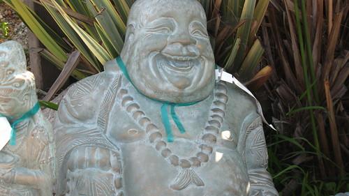 big buddha happy upclose