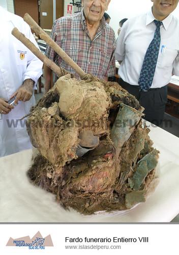 Fardo funerario Entierro VIII