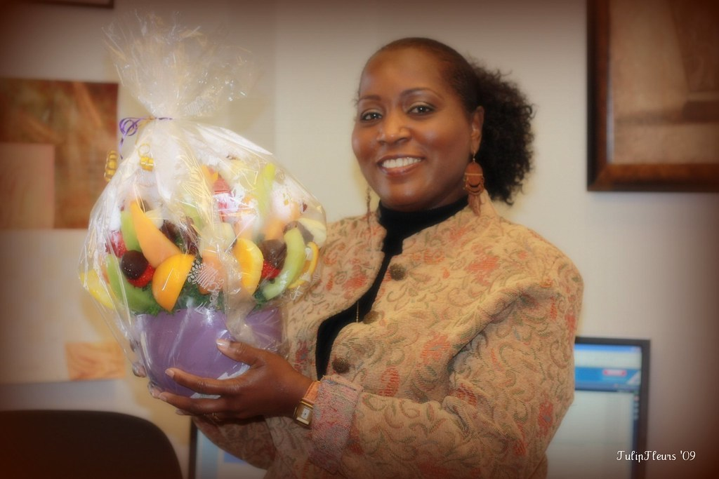 """DC's """"early"""" Birthday Bouquet of Fruits"""