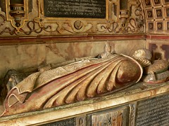 Alabaster tomb - All Saints, Norton