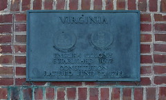 Virginia Colony Plaque