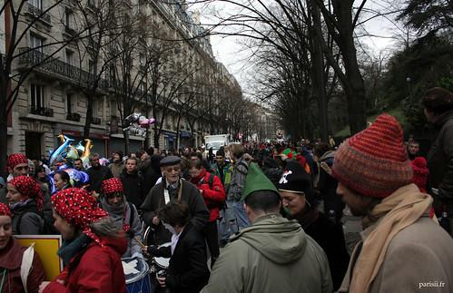 Beaucoup de gens pour ce Carnaval