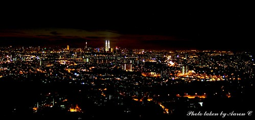 KL City at night