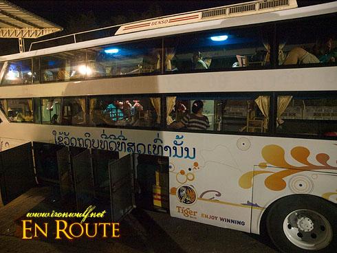 Pakse VIP Bus to Vientianne
