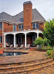 """Pool patio • <a style=""""font-size:0.8em;"""" href=""""http://www.flickr.com/photos/36642140@N07/3380136690/"""" target=""""_blank"""">View on Flickr</a>"""